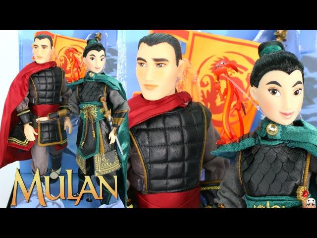 ОБЗОР сета: Mulan Li Shang - D23 EXCLUSIVE - Disney Folktale Designer LIMITED EDITION