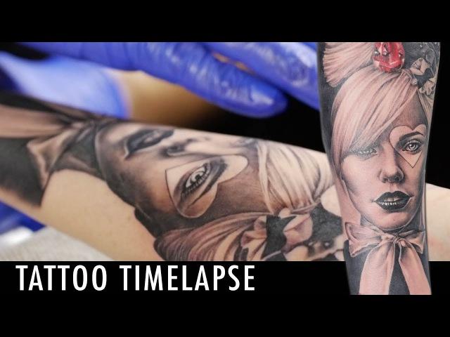 Tattoo Timelapse - Alberto Lanzarote