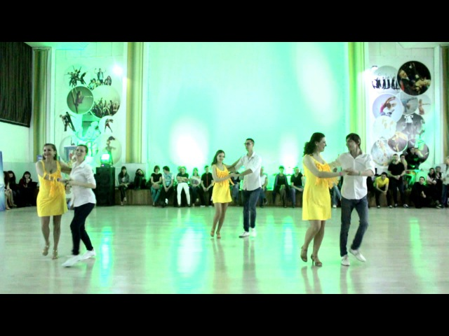 Show Salsa Timba style. Smal Groups. IV Kharkov Z'n'B Competition 2017.