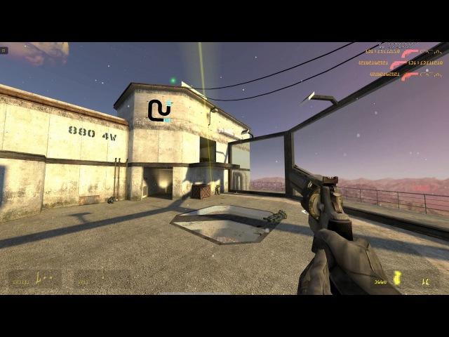 Half-life 2 Deathmatch Instagib gameplay (A Sourcemod plugin)