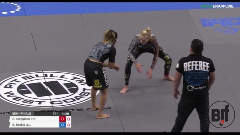 Emilia Karpinen vs Basilio SF ADCC17