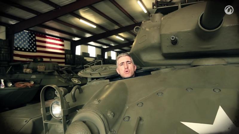 Загляни в реальный танк M24 Чаффи. Часть 3. В командирской рубке [World of tanks]