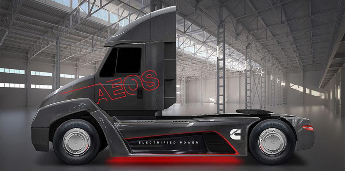 W2aAnEAR0LA Производитель дизелей представил электрогрузовик