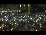 Гимн Украины на Майдане перед шоу Океан Ельзи _ 14-12-2013