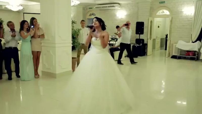 Рэп Невеста поет на свадьбе очень красиво _ - 360P.mp4
