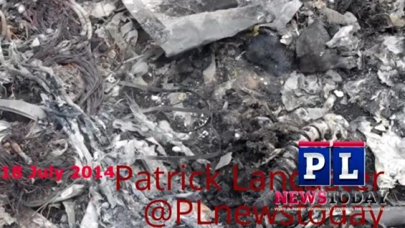 Больше человеческих останков на месте крушения МН17