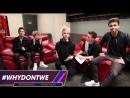 Ребята призывают поклонников голосовать за них в категории  «Лучшая Мужская Группа» на премию «iHeartRadio Music Awards 2018»