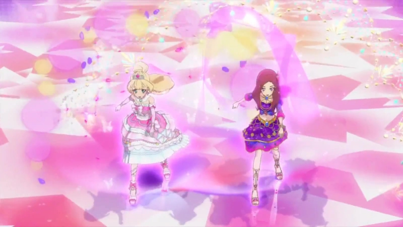 Aikatsu Stars Айкацу Звезды 4 серия Episode Solo Kasumi Yozora Shiratori Hime