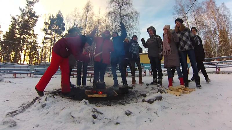 Хаски на Аляске - Jump around (ОП зима 17-18)