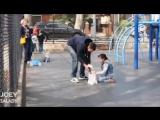 Как увести ребенка с площадки за 10 секунд