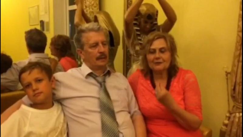 С рубиновой свадьбой, дорогие Сергей и Светлана!