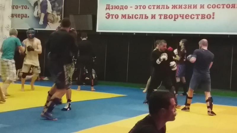 СПАРРИНГИ на РСК Оимпийском