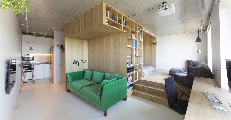 Интерьер квартиры 47 м в Москве.