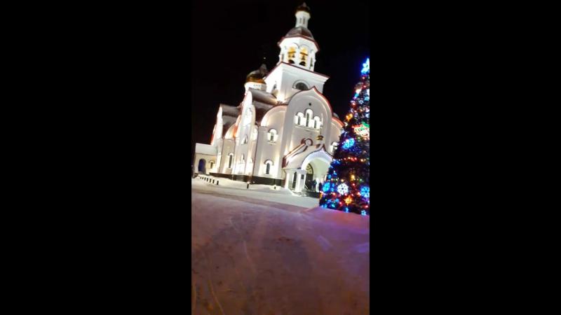 Храм Георгия Победоносца г Сургут 22 12 2017 г