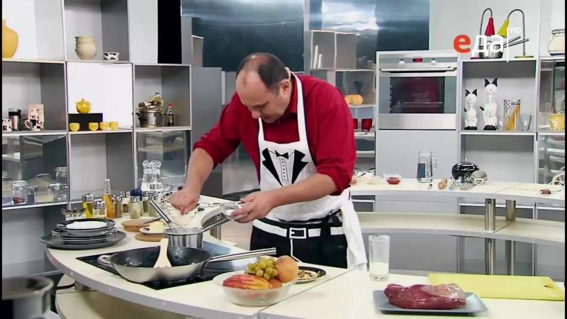 Видео как готовить бефстроганов