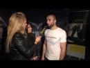 Камал Магомедов - Чемпион Европы по ММА 2017 (Весовая категория до 77.1 кг). Интервью после победы