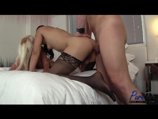 Kelli  christian introduce granny to a threesome (трансы порно shemale tranny porn sissy tranny трапы анал)