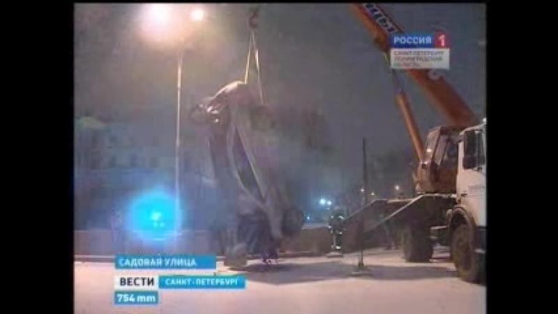 20120119 - Машина в Лебяжью канавку (1)