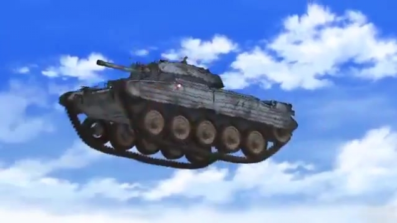 Girls und Panzer in a Nutshell