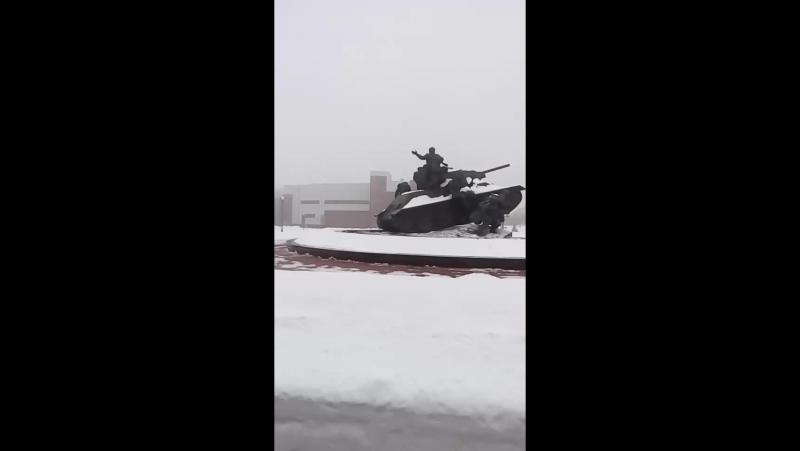 музей бронетехники Прохоровка часть 2