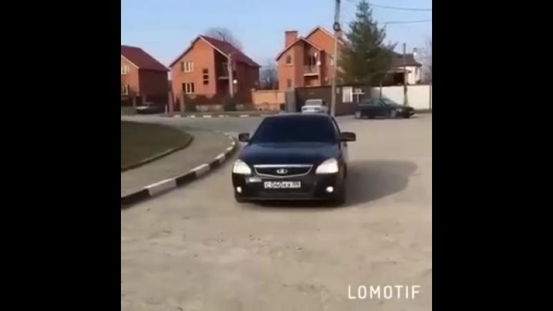 Черная Приора из Ингушетии