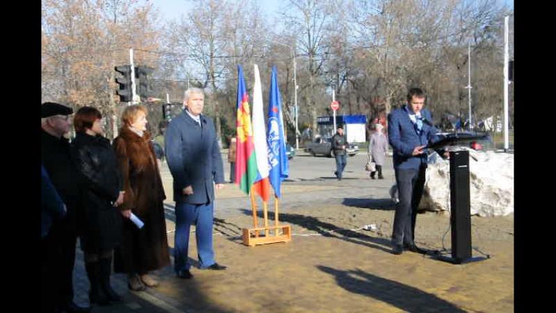 Открытие сквера КАЗАЧИЙ в Белореченске