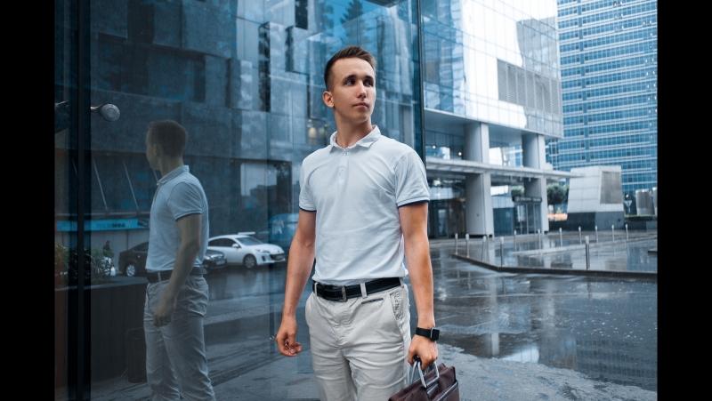 Деловые портреты / Бизнес съемка. Иван Медведев, Москва Сити.