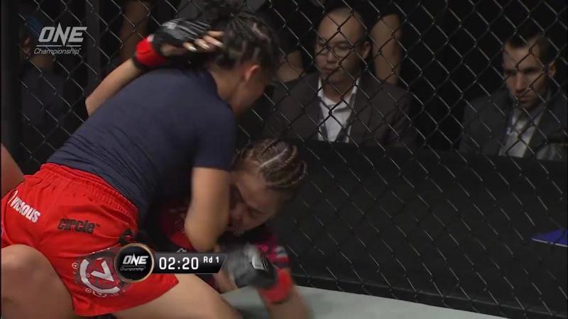 April Osenio defeats Ann Osman via Submission at 4:09 of Round 1