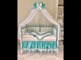 Комплект в кроватку Кристалл цена от 5390 руб