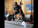 Кайлер Вулам - тяга 410 кг с плинтов