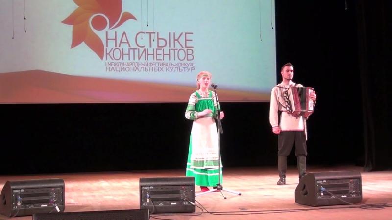 Солистка Варвара Харлова Образцовый фольклорный ансамбль
