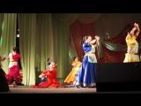 Школа восточного и индийского танца ESMIRA (состав г. Учалы), рук. Эльнара Мир