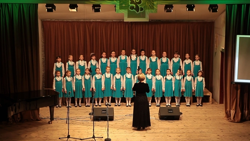 Концерт в Доме Музыки Хор Ручеёк