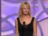 Uma Thurman Wins Best Actress TV Movie - Golden Globes (2003)