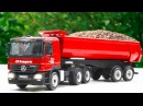 The Big Red Truck on the road in the City | Construction Car Kids Cartoon