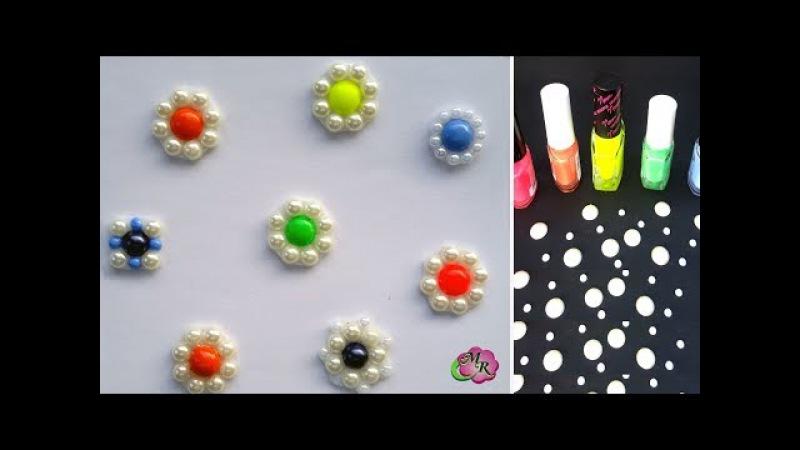 Лайфхак. DIY Серединки для бантов и цветов канзаши2/Lifehack for handmade. DIY accessory for bow2