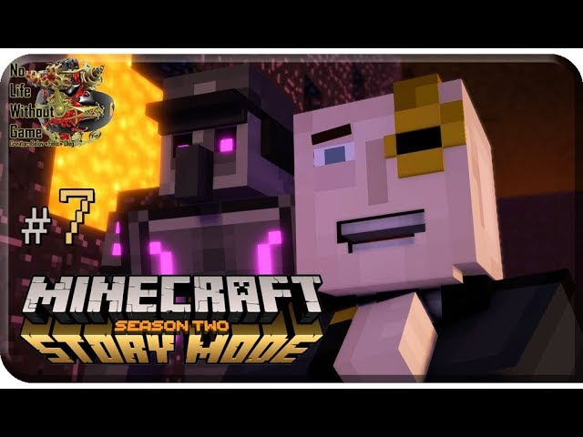 Minecraft Story Mode Season Two Ep3[7] - Больше чем чувства (Прохождение на русском)