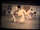 Aikido Shihans Y Yamada M Kanai A Tohei Y Kawahara b w 8mm aikidocanada ca