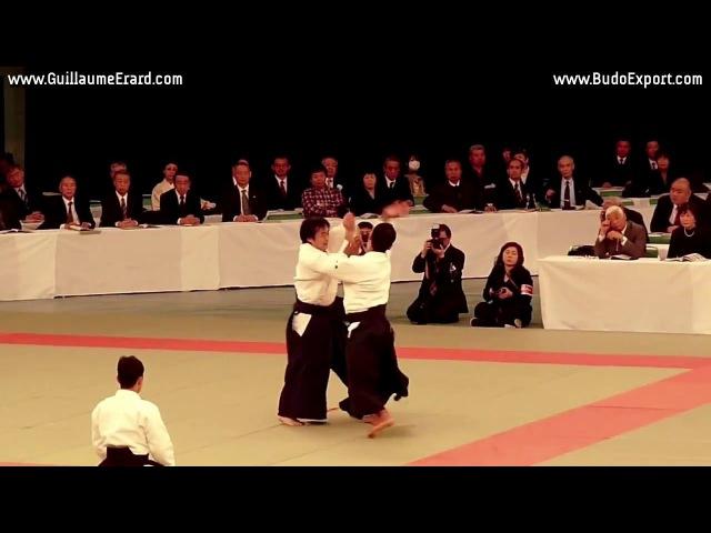 Aikido Aikikai Kobayashi Yukimitsu Shihan 7th Dan Nippon Budokan Kagamibiraki 2011