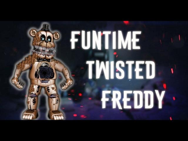 [Speed Edit | FNAF ] Making Funtime Twisted Freddy