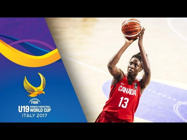 Laeticia Amihere - All-Star Five - FIBA U19 Women's Basketball World Cup 2017