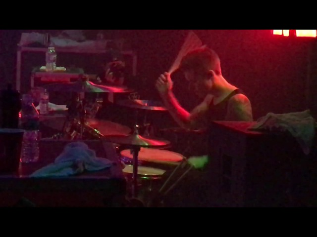Luke Holland - Overdose - The Word Alive (Drum Cam) Last show with Luke in Chicago 11/22/16