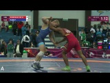 GOLD GR - 69 kg P. ROBB (USA) df. H. RODRIGUEZ BE (VEN) by VSU, 8-0