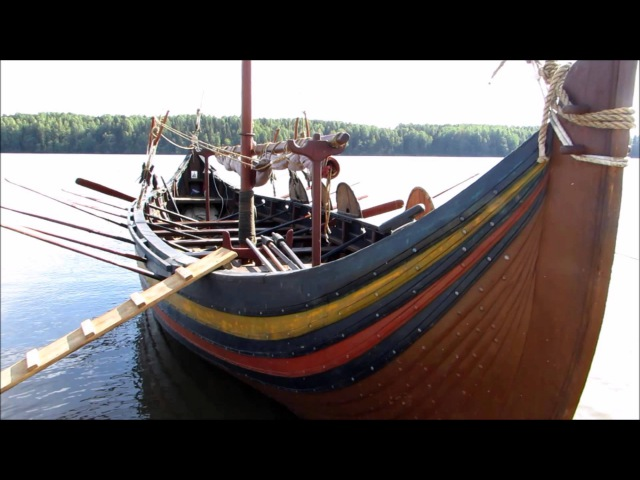 (88) Поход викингов. Ладья Мёве из Мурома. Фестиваль Сугорье