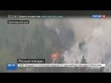 Новости на Россия 24  Сезон  В пяти регионах России из-за пожаров введен режим ЧС