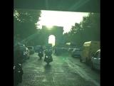 🎶BONJOUR PARIS!! Ça va?! 🚨Casual police escort to set... JK! 🚨 🎶 SONG: ça va by PILOU 💋💋💋