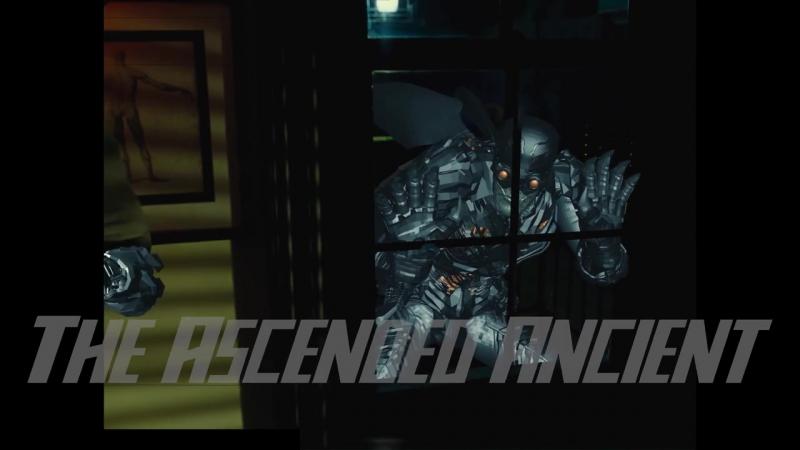 Лига Справедливости - парадемоны и материнская коробка (вырезанная сцена)