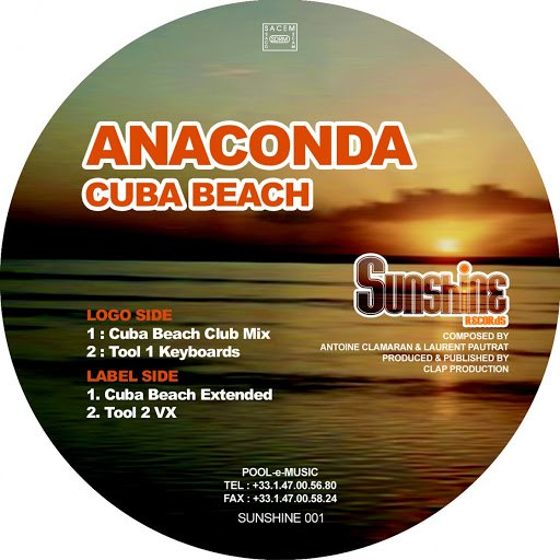 Anaconda альбом Cuba Beach