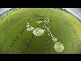 Круги на полях. След НЛО. Развивающее видео для детей