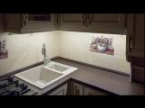 Дизайн кухни 6 кв. метров в классическом стиле